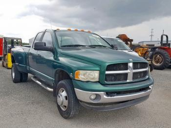 Salvage Dodge Ram Pickup 3500